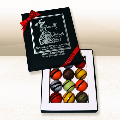 'Britannia's Kitchen Garden' - A New Collection of British Caramel Chocolates