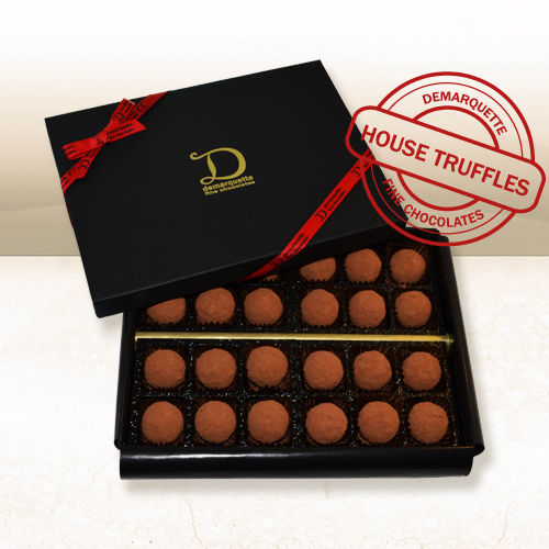 Demarquette Luxury 24 Truffle Collection - pure gourmet chocolate