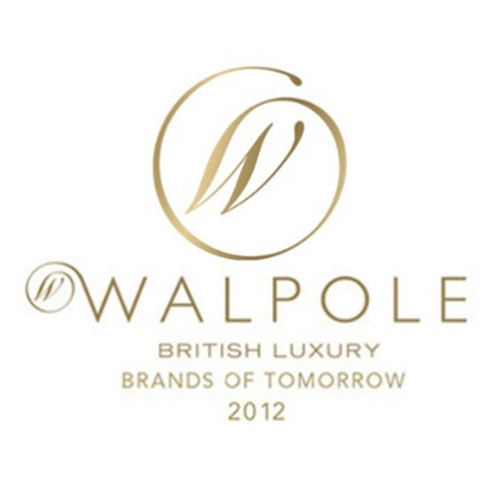Proud to be Selected by the Walpole as a 2012 British Luxury 'Brand of Tomorrow'