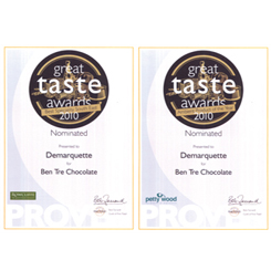 Two Further Nominations Rreceived at Great Taste Awards 2010 Ceremony