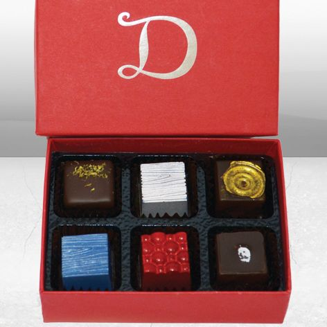 Demarquette X (TEN) Chocolate Collection - a luxury chocolate variety exclusive to Demarquette Fine Chocolates.